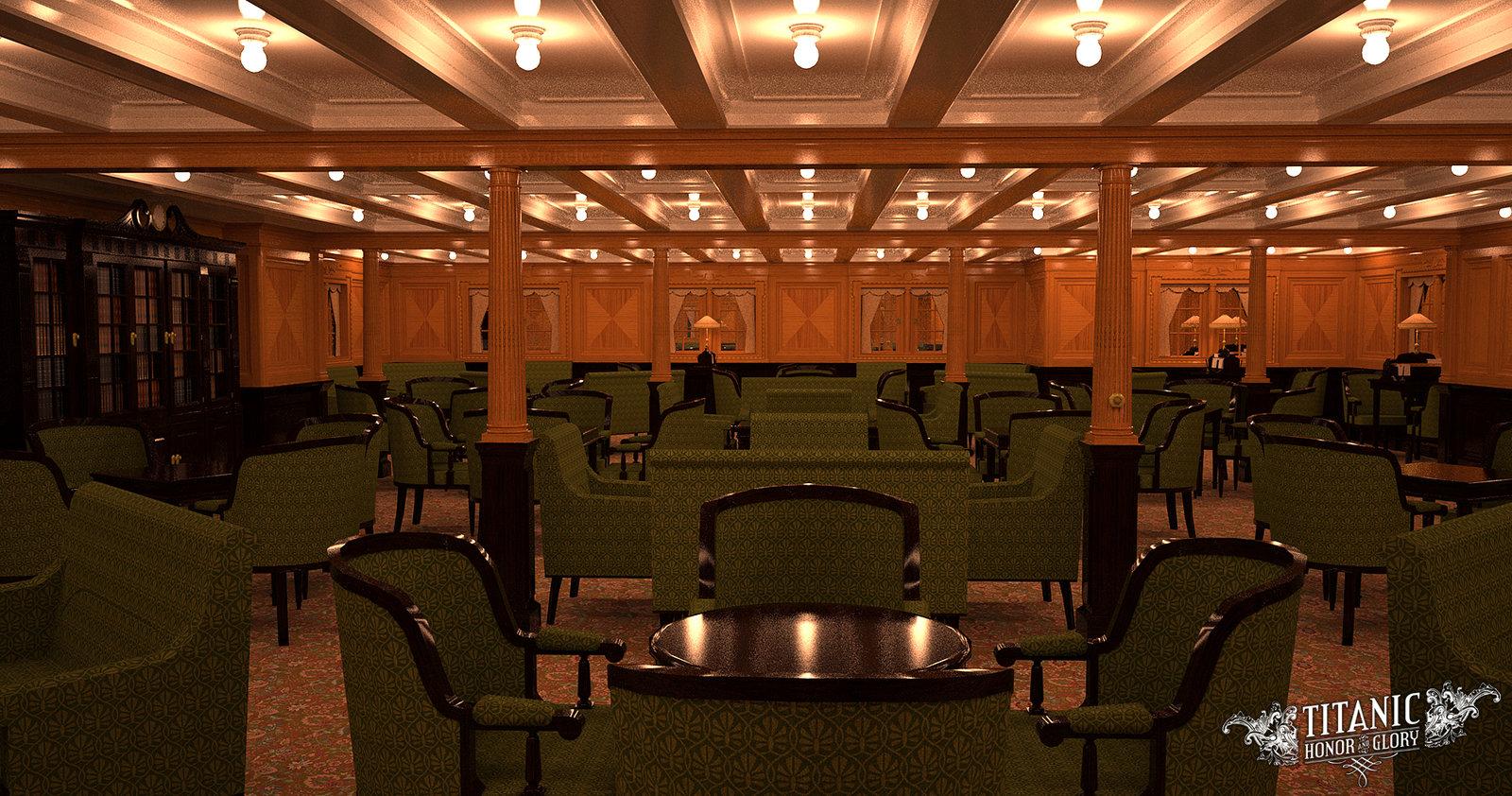 Second Class Library Titanic Wiki Fandom Powered By Wikia