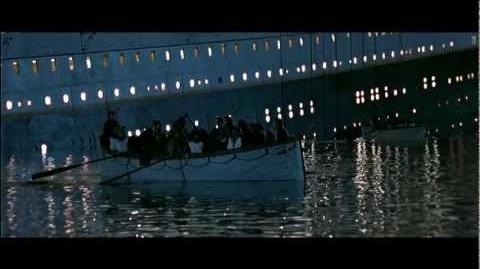 Titanic, 1997 (Deleted scene Molly Brown's Rowing School) HD 1080p