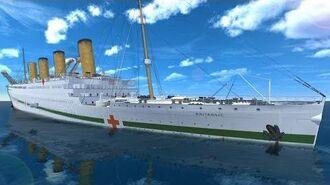 Britannic Sinking Ship Simulator! - Britannic Gameplay