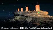 Sinking of the Titanic (BASED ON 2012 THEORY) - Virtual Sailor