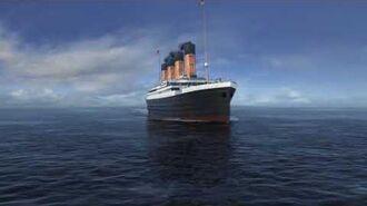 Titanic 3D Animation