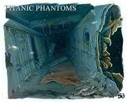 Titanic Phantoms The Titanic's Hall Sketch
