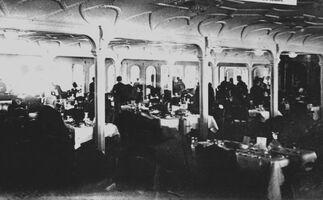1st class dining room Titanic