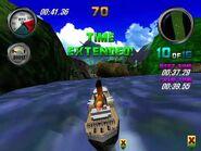 Hydro Thunder Tinytanic racing on Lost Island