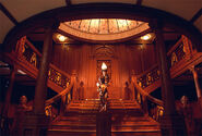 Titanic's grand staircase edit