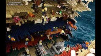 LEGO TITANIC LIVERPOOL