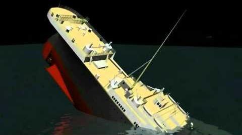 3D Titanic Sinking Animation HD