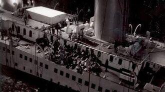 Behind the scenes footage of the 1997 Titanic movie - imagens dos bastidores do filme Titanic 1997