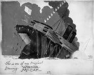 The Sinking of the Lusitania Ship Sinking