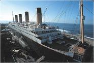 Reconstitution du Titanic