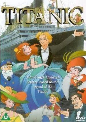 Titanic 2001 DVD cover
