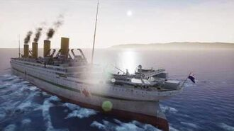 BRITANNIC PATRONESS OF THE MEDITERRANEAN - REAL TIME SINKING