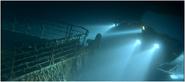 Proue Mir épave Titanic