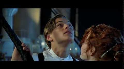 Titanic, 1997 (Deleted scene Shooting Star) HD 1080p