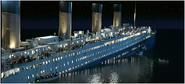 Côté bâbord naufrage
