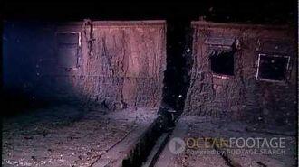 Ocean Footage Behind the Scenes, Titanic Wreck Underwater