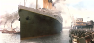 Départ Titanic