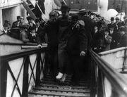 Harold Bride being carried up ramp cph.3b31920