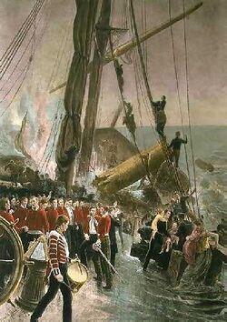 Wreck of the Birkenhead