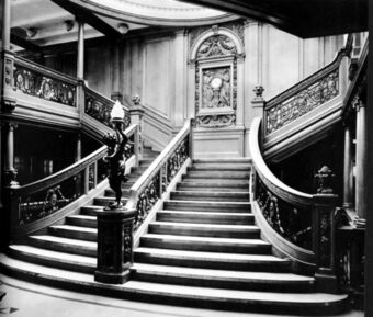 decorative hand railings for stair.htm grand staircase of the rms titanic titanic database wiki fandom  grand staircase of the rms titanic