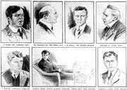 US Senate Titanic inquiry witnesses