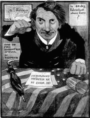 William Alden Smith cartoon 1912