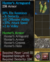 Hunters bracers