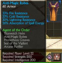 Agent order chest