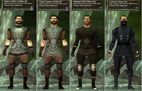 IronLore's-Ninja Thalys'-LeatherClothes Madman's-DarkChain