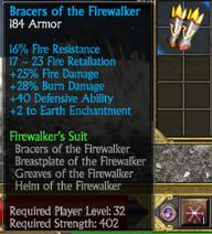 Firewalkers bracers
