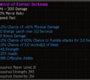 Sword of Eternal Darkness