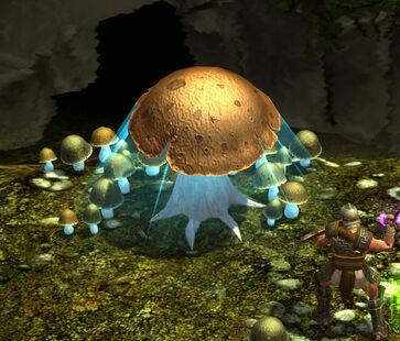 Cybe-mushroom