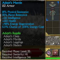 Adepts chest
