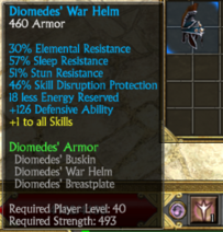 Diomedes helm
