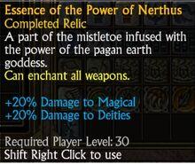 Essence of the Power of Nerhus