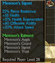 Memnons ring
