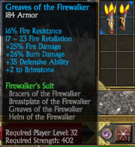 Firewalkers boots