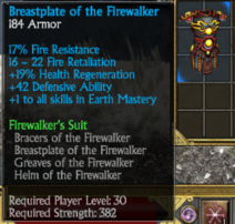 Firewalkers chest