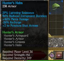 Hunters helm