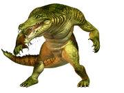 Croc-character