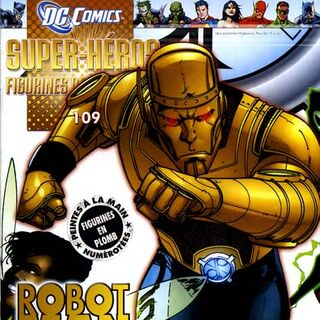 Robot Man dans les comics.