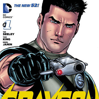 Dick Grayson dans les comics.