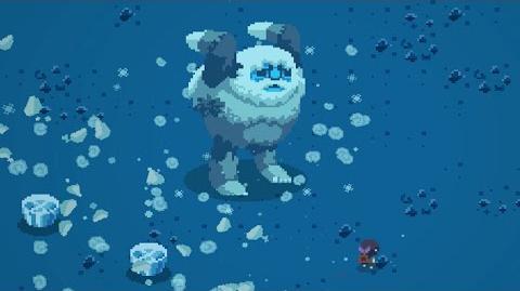 Titan Souls Yeti Boss Fight