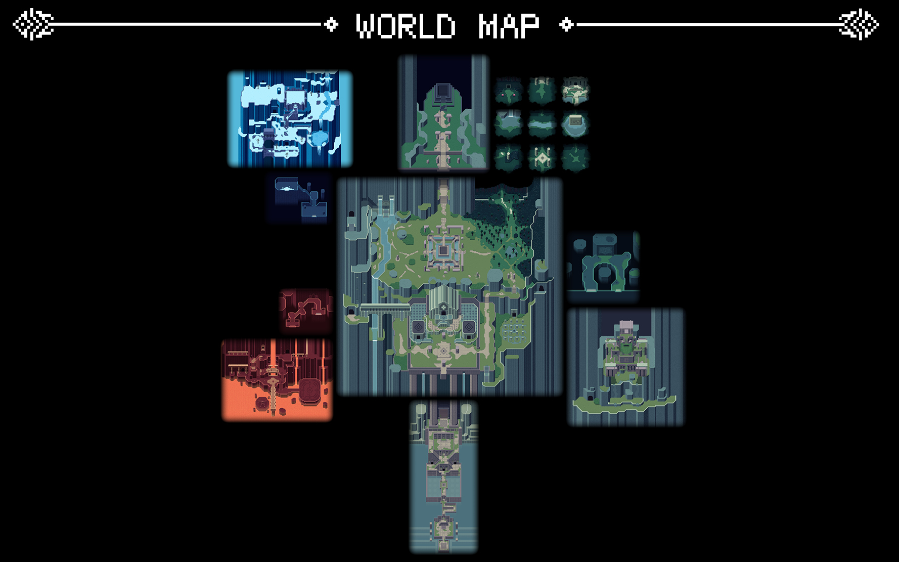 titan souls world map World Map Titan Souls Wiki Fandom