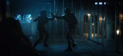 Kory fights Deathstroke