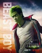 Titans S1 Beast Boy Netflix Poster