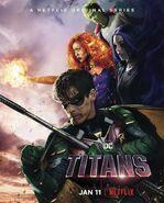 Titans S1 Netflix Poster