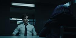 Dick Grayson questions Rachel Roth