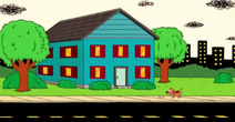 Casa Azul, Careta e Cachorro