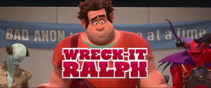 Wreck-It Ralph non-animated